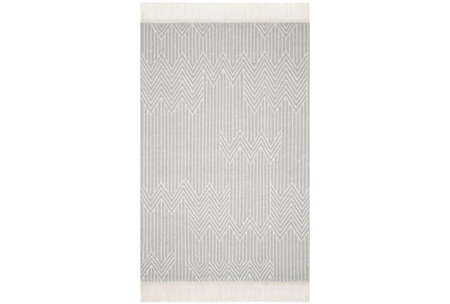60X90 Rug-Magnolia Home Newton Lt Grey/Ivory By Joanna Gaines - 360