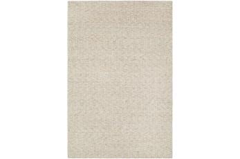 60X90 Rug-Willa Undyed Wool Cream