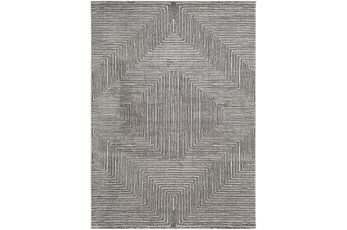 94X123 Rug-Exam Diamond Black