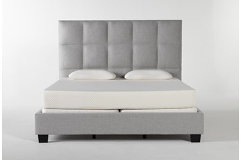 Boswell Eastern King Upholstered Panel Bed