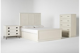 Centre Queen Panel 3 Piece Bedroom Set By Nate Berkus And Jeremiah Brent