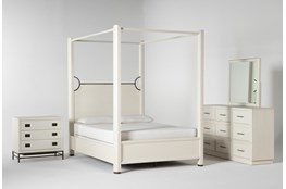 Centre Queen Canopy 4 Piece Bedroom Set By Nate Berkus And Jeremiah Brent