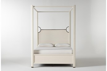 Centre California King Canopy Bed By Nate Berkus And Jeremiah Brent
