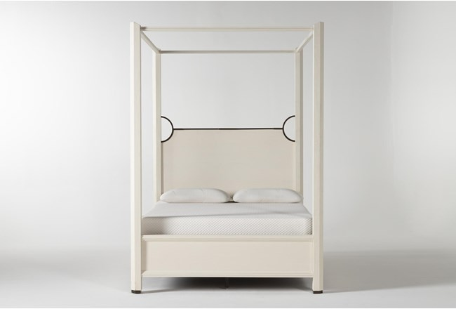 Centre California King Canopy Bed By Nate Berkus And Jeremiah Brent - 360