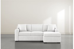 """Cypress II Foam 93"""" Sofa With Reversible Chaise"""