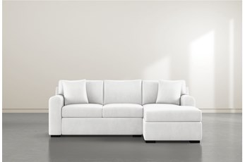 "Cypress II Foam 93"" Sofa With Reversible Chaise"