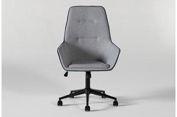 Jetson High Back Grey Desk Chair