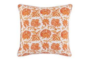 Outdoor Accent Pillow-Carnelian Bloom 18X18