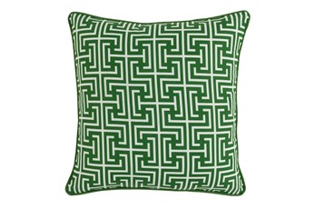 Outdoor Accent Pillow-Palm Greek Key 20X20