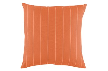 Outdoor Accent Pillow-Carnelian Pinstripe 20X20