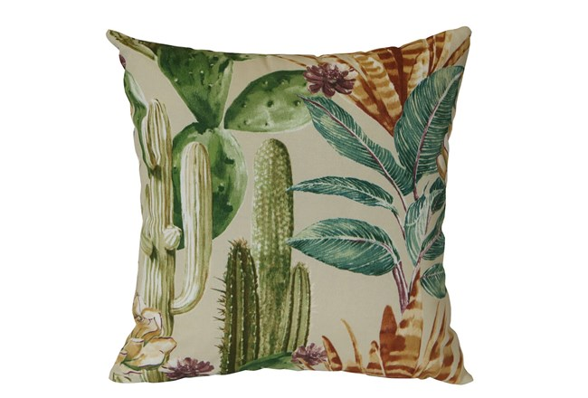 Outdoor Accent Pillow-Foliage Multi 18X18 - 360