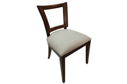 Mahogany Cut Out Dining Chair