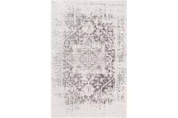 24X35 Rug-Global Inspired Chenille-Cotton Grey/Silver