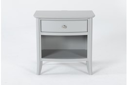 """Greyson Open 26"""" Nightstand With USB"""