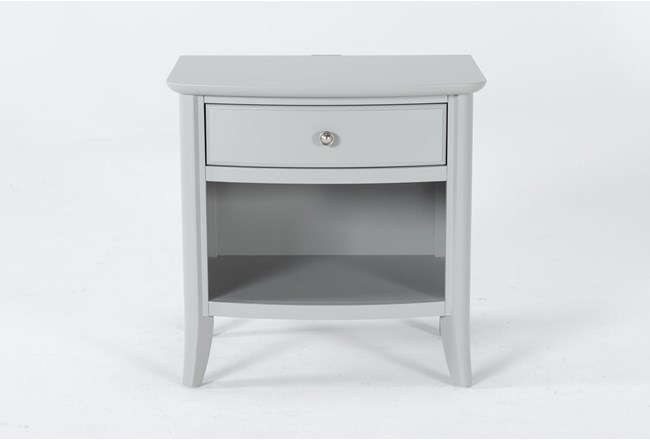 "Greyson Open 26"" Nightstand With USB - 360"