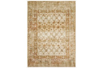 94X130 Rug-Magnolia Home James Spice/Gold By Joanna Gaines