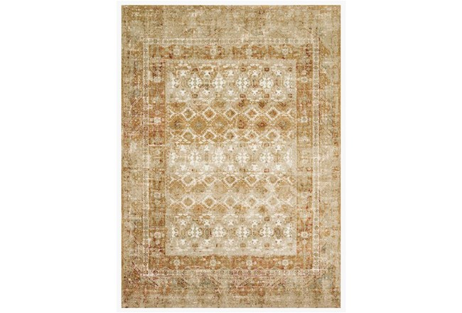 114X156 Rug-Magnolia Home James Spice/Gold By Joanna Gaines - 360