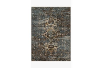 114X156 Rug-Magnolia Home James Midnight/Sunset By Joanna Gaines
