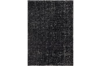 24X36 Rug-Undyed Wool Textured Cream/Charcoal