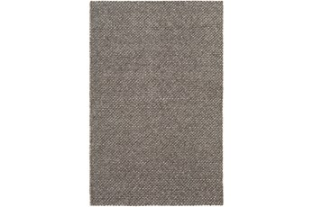 96X120 Rug-Viscose And Wool Textured Camel/Brown/Cream