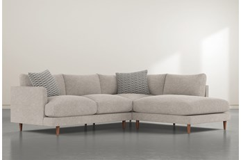 """Adeline II 2 Piece 109"""" Sectional With Right Facing Chaise"""