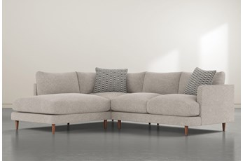 """Adeline II 2 Piece 109"""" Sectional With Left Facing Chaise"""