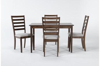 Aldaire 5 Piece Rectangle Dining Set