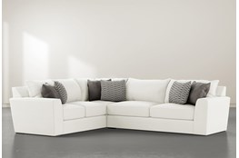 "Delano Pearl 2 Piece 125"" Sectional With Right Arm Facing Sofa"