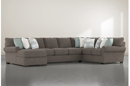 "Aurora II 3 Piece 165"" Sectional With Left Arm Facing Chaise"