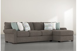 "Aurora II 2 Piece 131"" Sectional With Right Arm Facing Chaise"