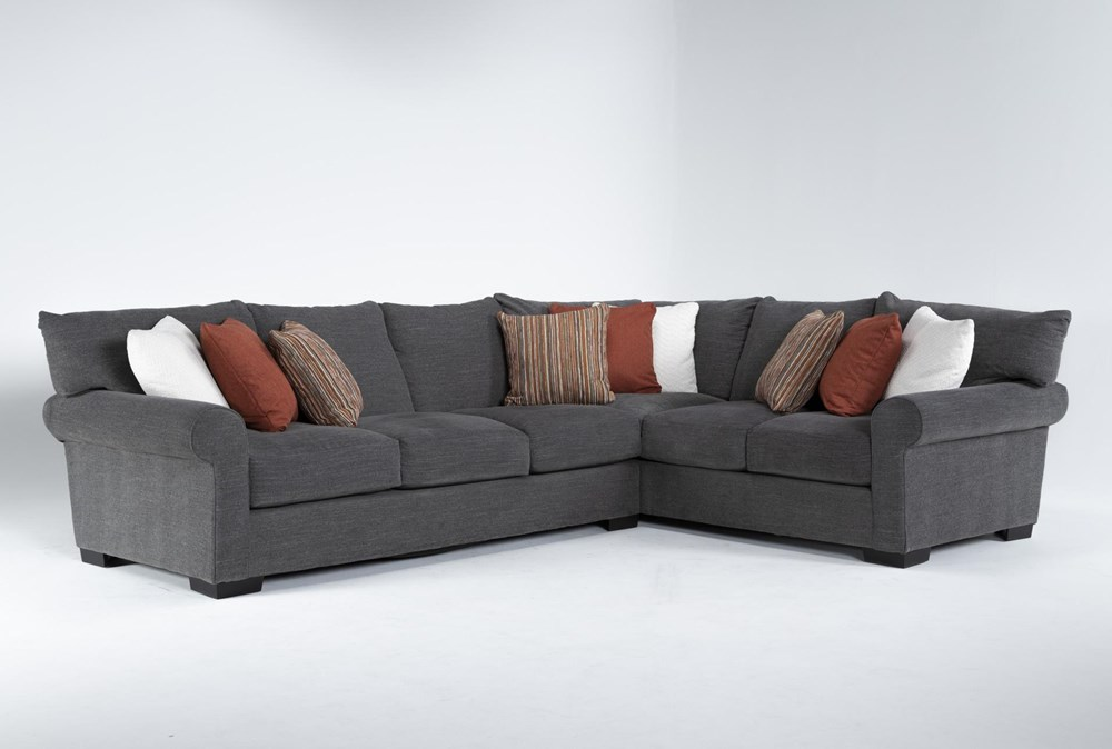 """Aurora II 2 Piece 137"""" Sectional With Left Arm Facing Sofa"""
