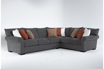 "Aurora II 2 Piece 137"" Sectional With Left Arm Facing Sofa"