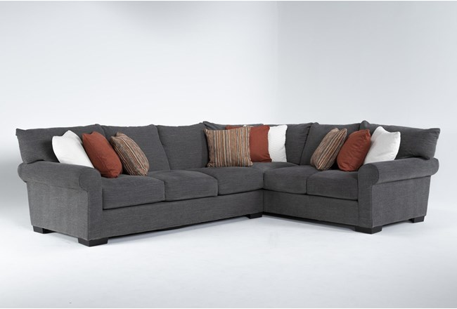 """Aurora II 2 Piece 137"""" Sectional With Left Arm Facing Sofa - 360"""