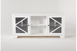 Sinclair II White 68 Inch TVStand