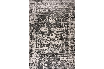 94X126 Rug-Boho Traditional Grey/Black