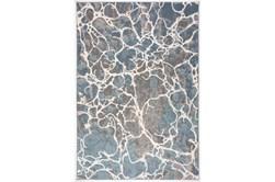 94X126 Rug-French Crackle Blue/Grey
