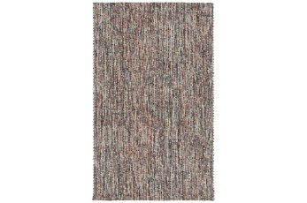 96X120 Rug-Tula Hand Loomed Brown/Terracotta