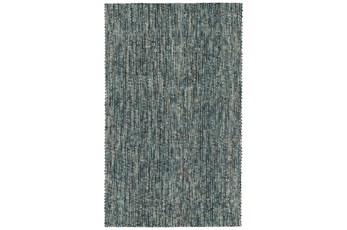 96X120 Rug-Tula Hand Loomed Turquoise