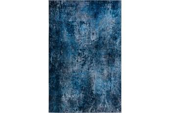 108X156 Rug-Borealis Lustre Deep Blue