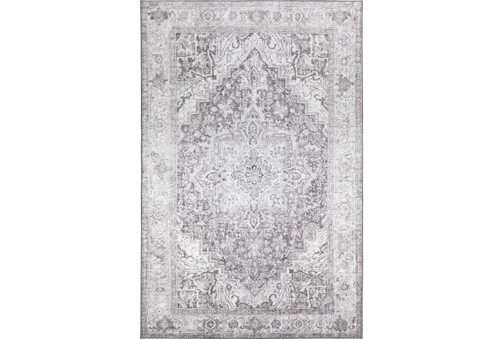 39X63 Rug-Traditional Lustre Sheen Taupe
