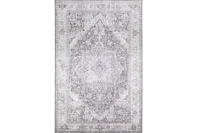 60X90 Rug-Traditional Lustre Sheen Taupe - 360
