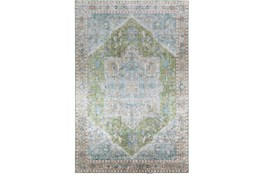 96X120 Rug-Traditional Lustre Sheen Meadow