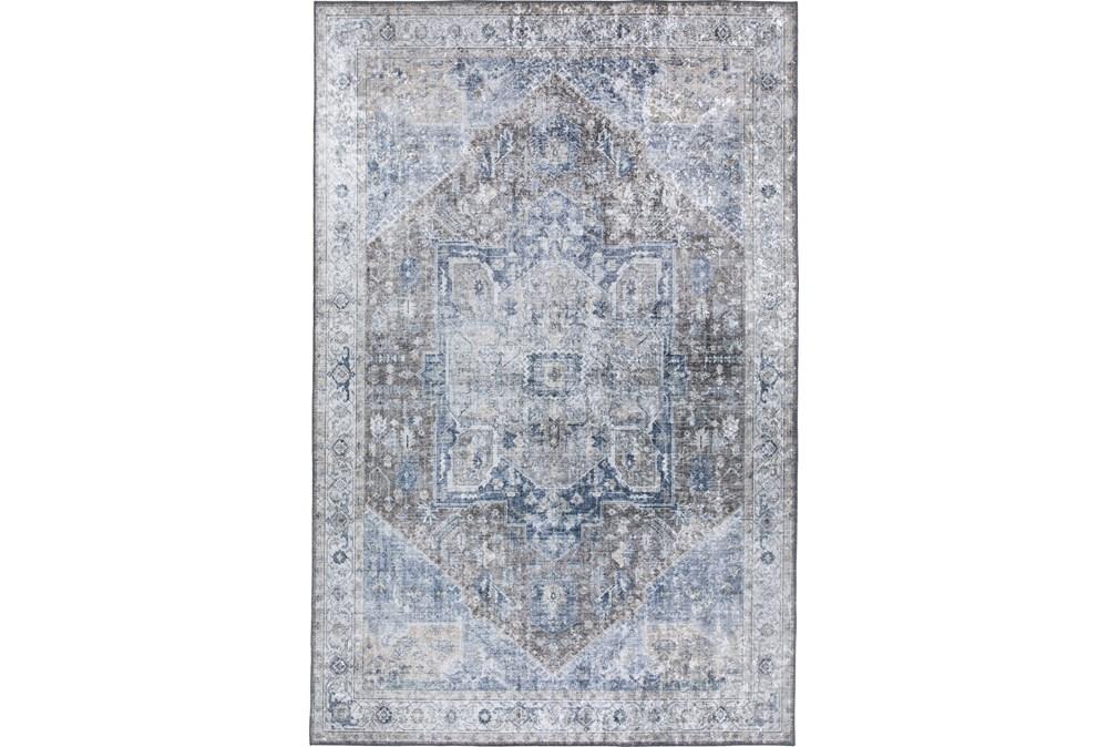 96X120 Rug-Traditional Lustre Sheen Mocha