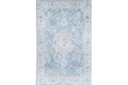 60X90 Rug-Traditional Lustre Sheen Light Blue