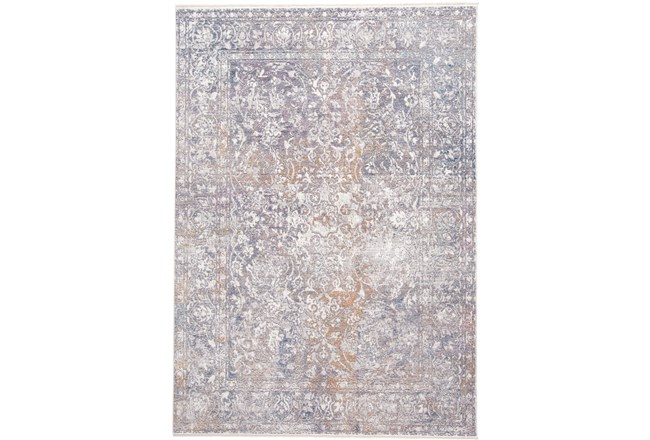 60X96 Rug-Floral Damask Sunset - 360