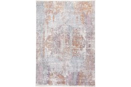 60X96 Rug-Faded Medallion Sunset