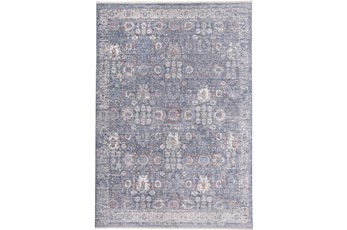 120X168 Rug-Faded Traditional Moonlight