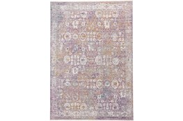 120X168 Rug-Faded Traditional Sorbet