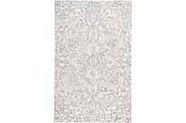 60X96 Rug-Symmetrical Detail Ivory/Charcoal