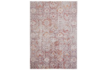 63X90 Rug-Tamarack Highlights Pink/Grey/Charcoal